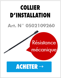 Collier d'installation