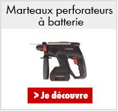 Marteaux perforateurs à batterie