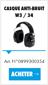 Casque anti-bruit W3 / 34