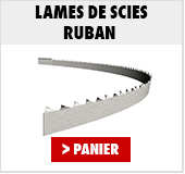 Lames de scies ruban