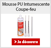Mousse PU Intumescente Coupe-feu