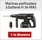 Marteau perforateur à batterie H36-MAS