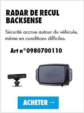 Radar de recul backsense