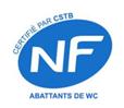 Abattants WF certifiés